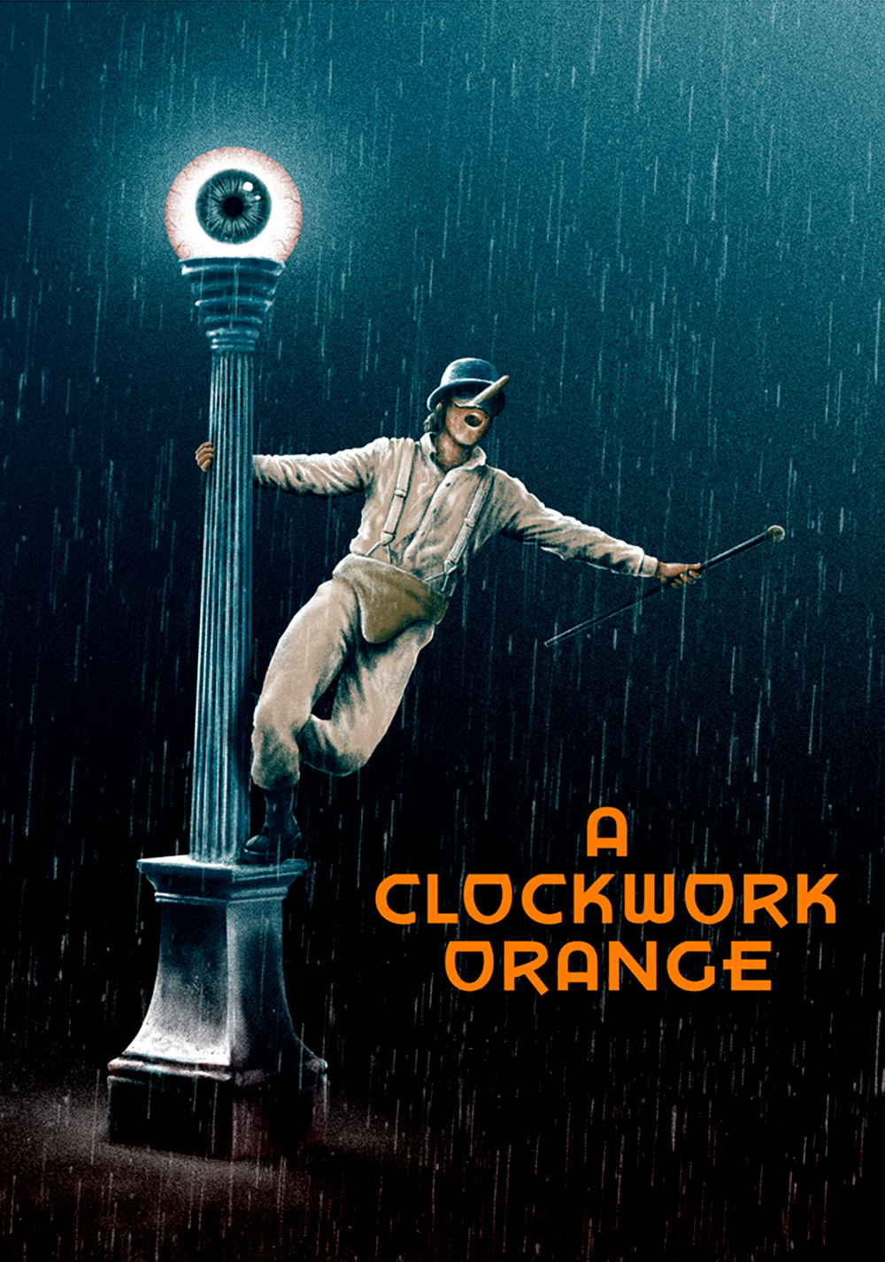 A Clockwork Orange Art - ID: 100501 - Art Abyss A Clockwork Orange Painting