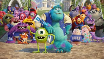 38 Monsters University Art Art Abyss