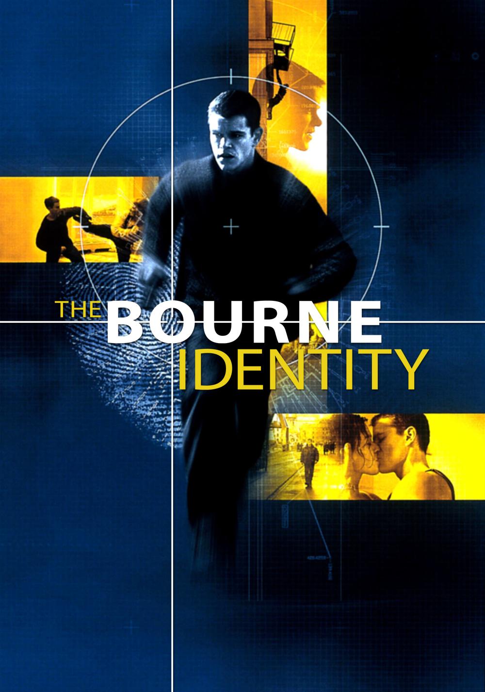 Bourne movie poster