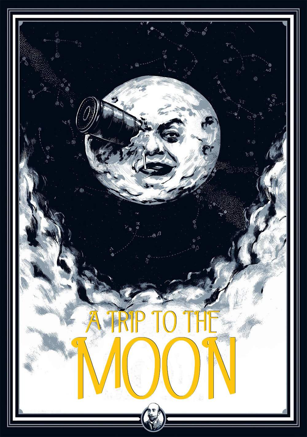 the story and theme behind george melies film a trip to the moon