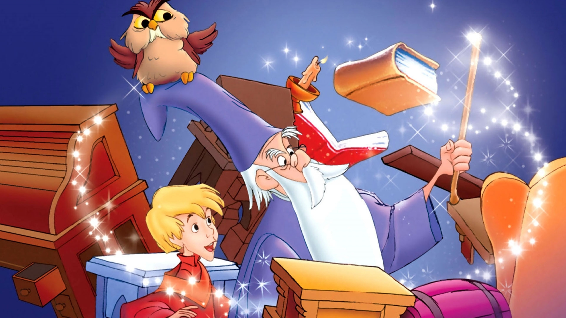 an analysis of arthurs education in the sword in the stone a film by walt disney