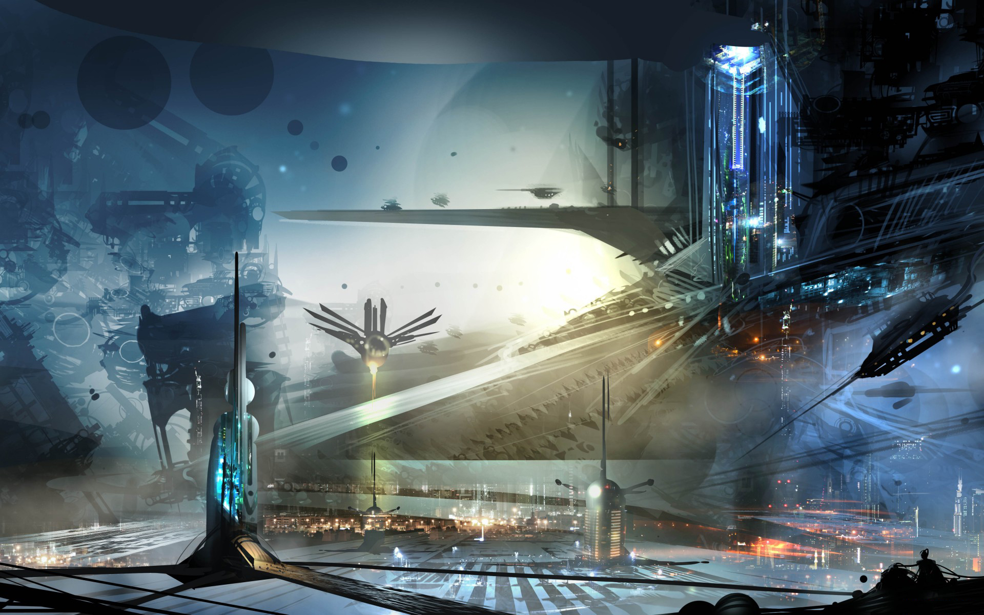science fiction atlantis space base - photo #44