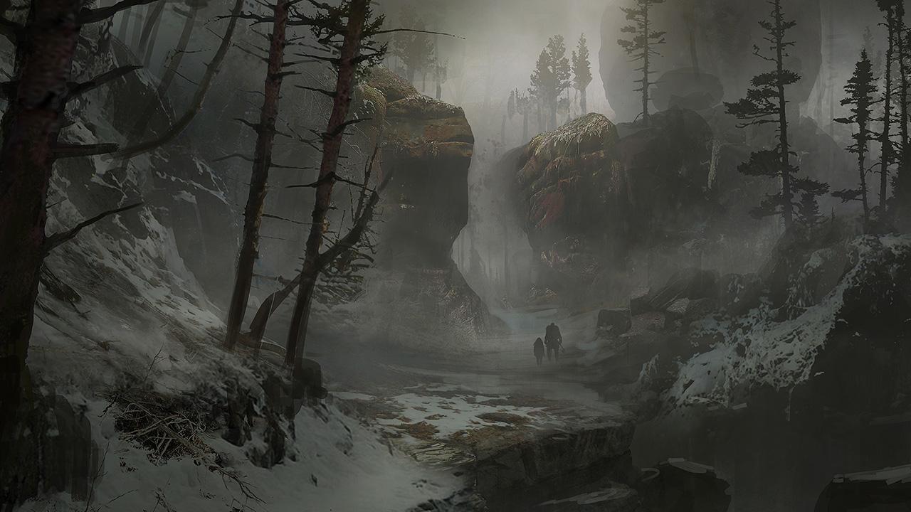 God Of War 2018 Concept Art Forest Art Id 112197 Art Abyss