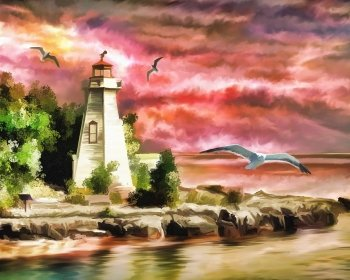Sub-Gallery ID: 3310 Lighthouse