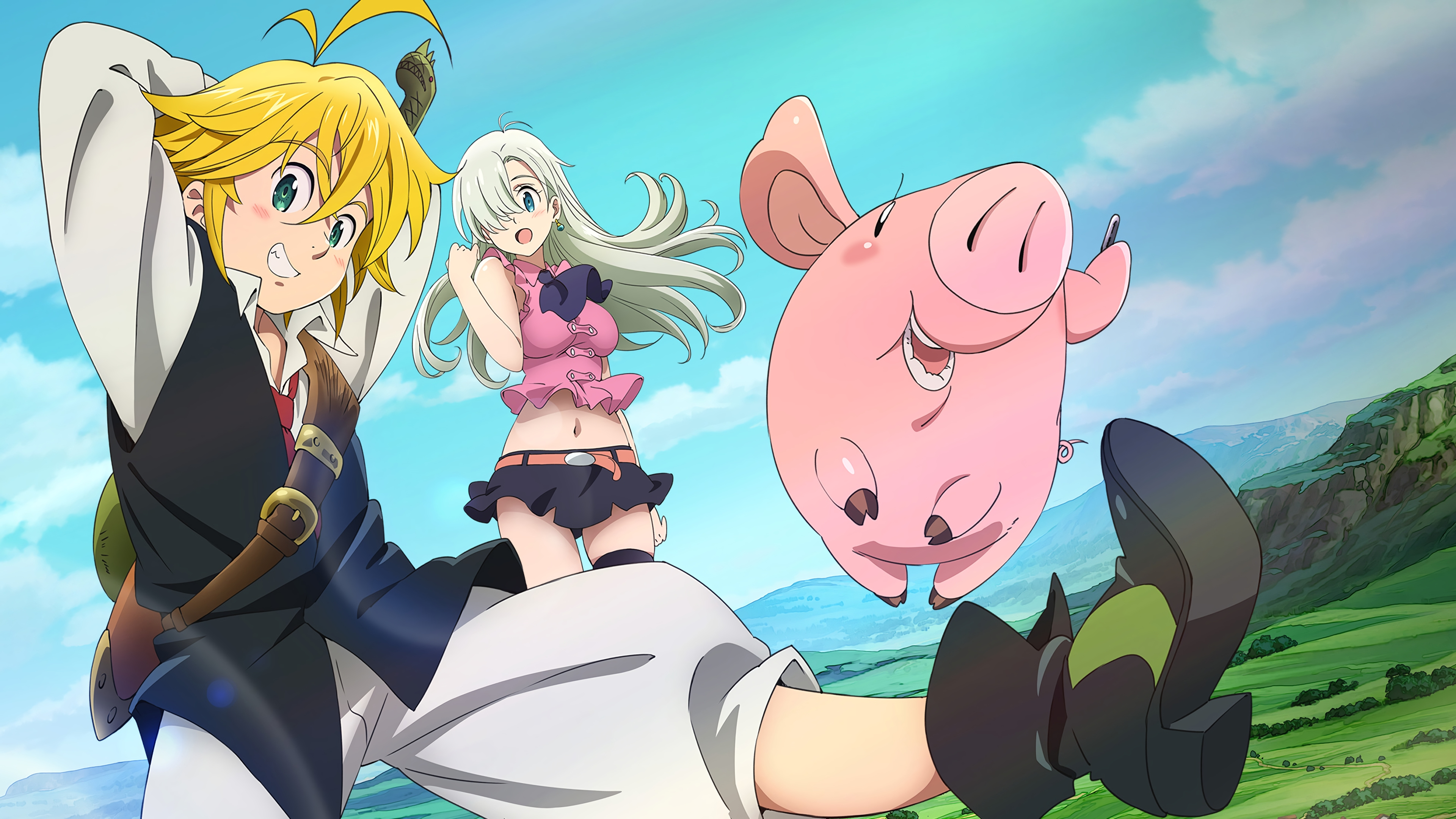 The Seven Deadly Sins Art - ID: 115214 - Art Abyss
