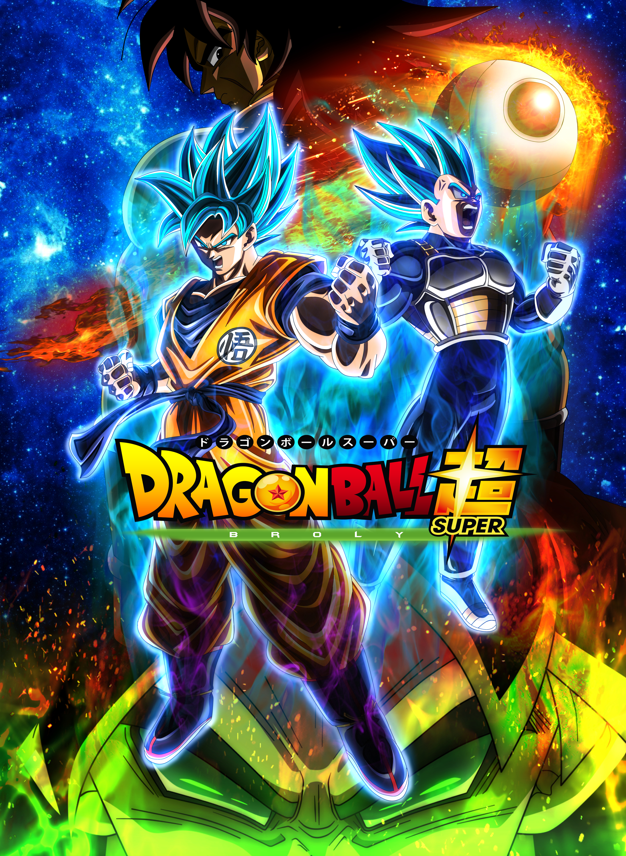 Dragon Ball Super Broly Remastered Poster Art Id 115488 Art Abyss