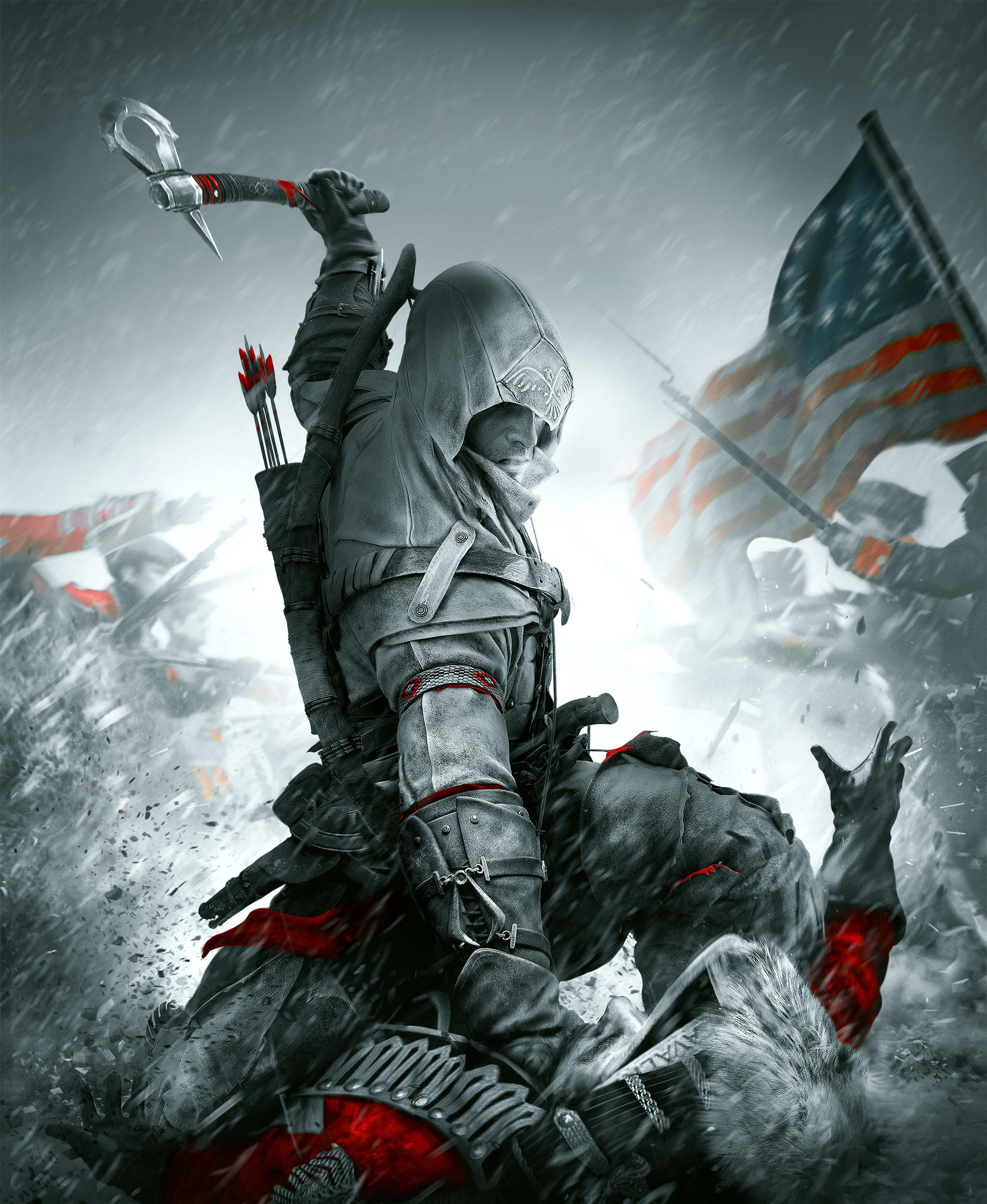 Connor Kenway Art Id 120770 Art Abyss