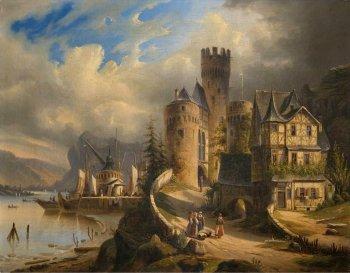 120 Castle Art - Art Abyss