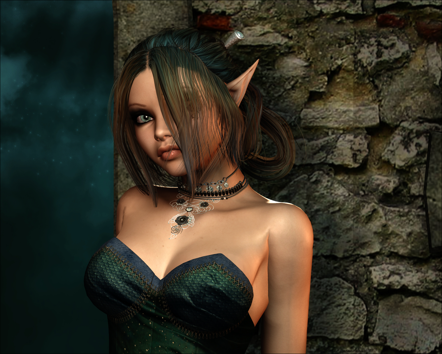 Captured elf girl nackt gallery