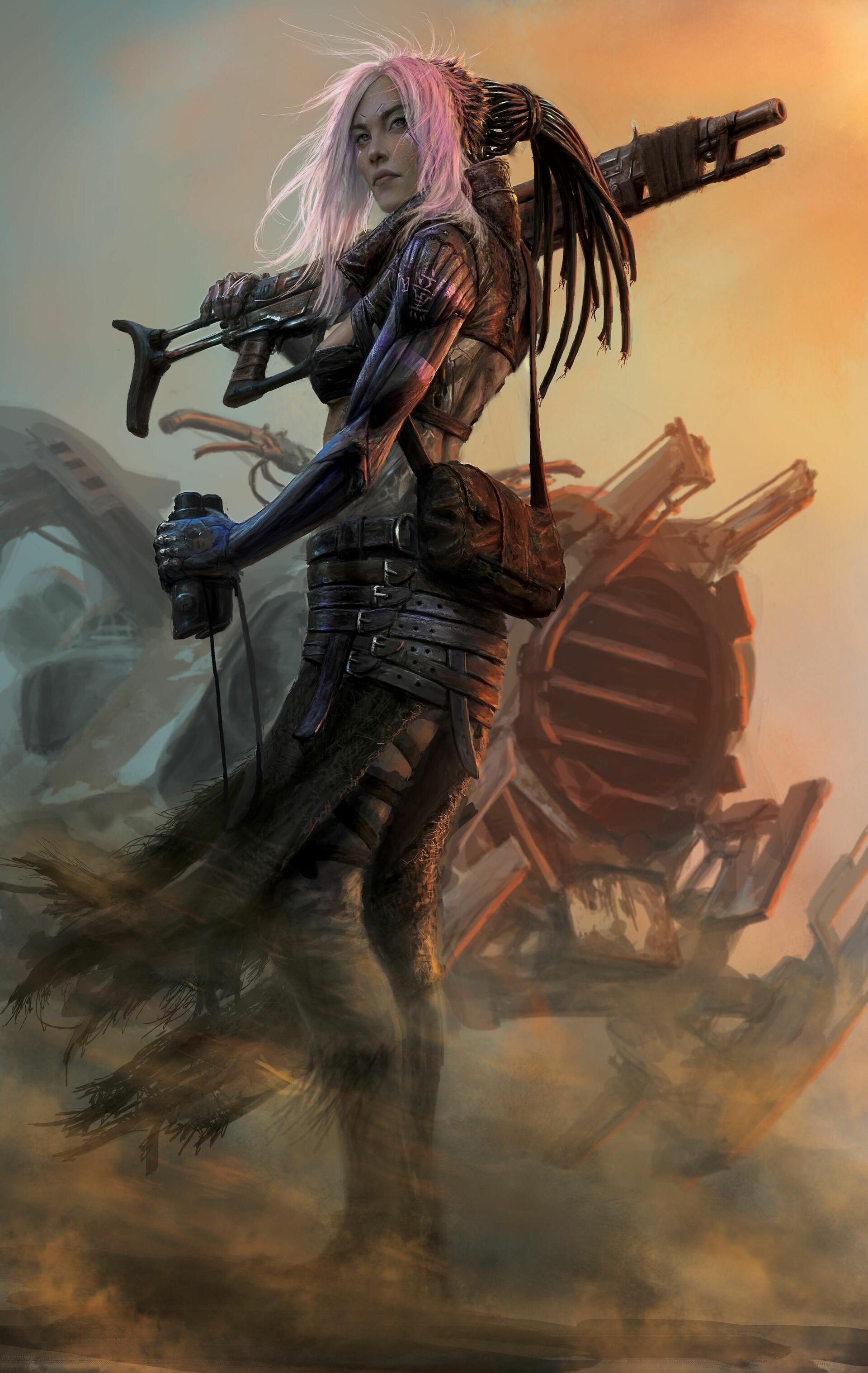 Women Warrior Art - ID: 57886 - Art Abyss