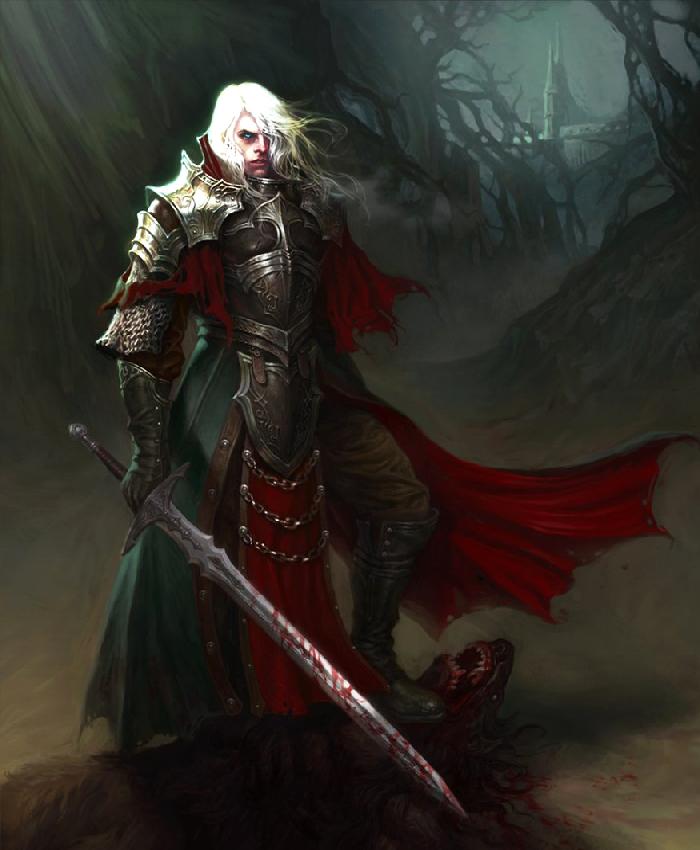 Fantasy Knight Art Vampire knight art fantasy
