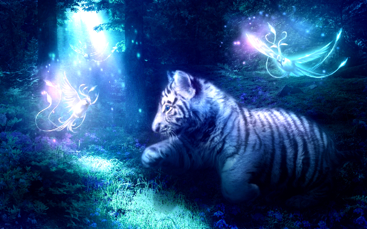 White Tiger Art Id 16270 Art Abyss