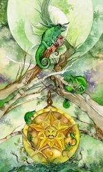 Preview Tarot Plaques - Pentacles