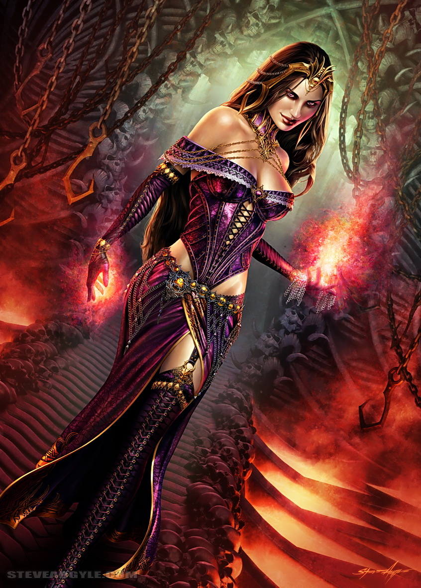 hot witch Art - ID: 20849 Planeswalker Points