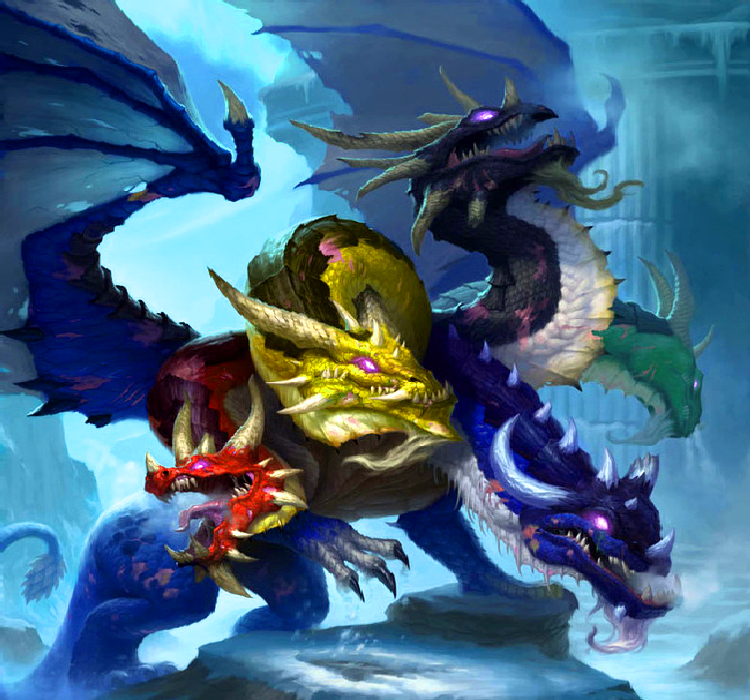 relationship between tehom tiamat the dragon
