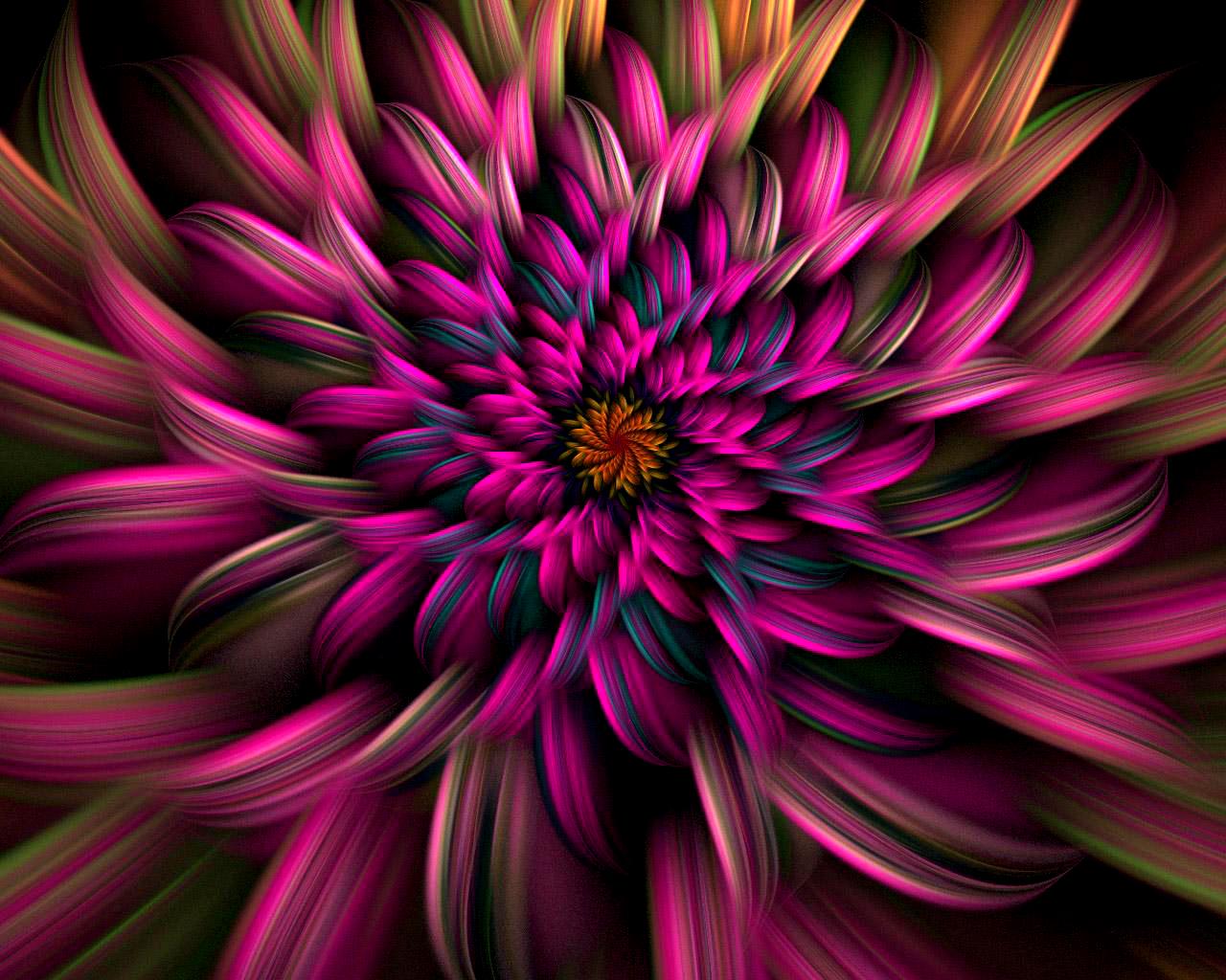 Фото цветов в 3 д