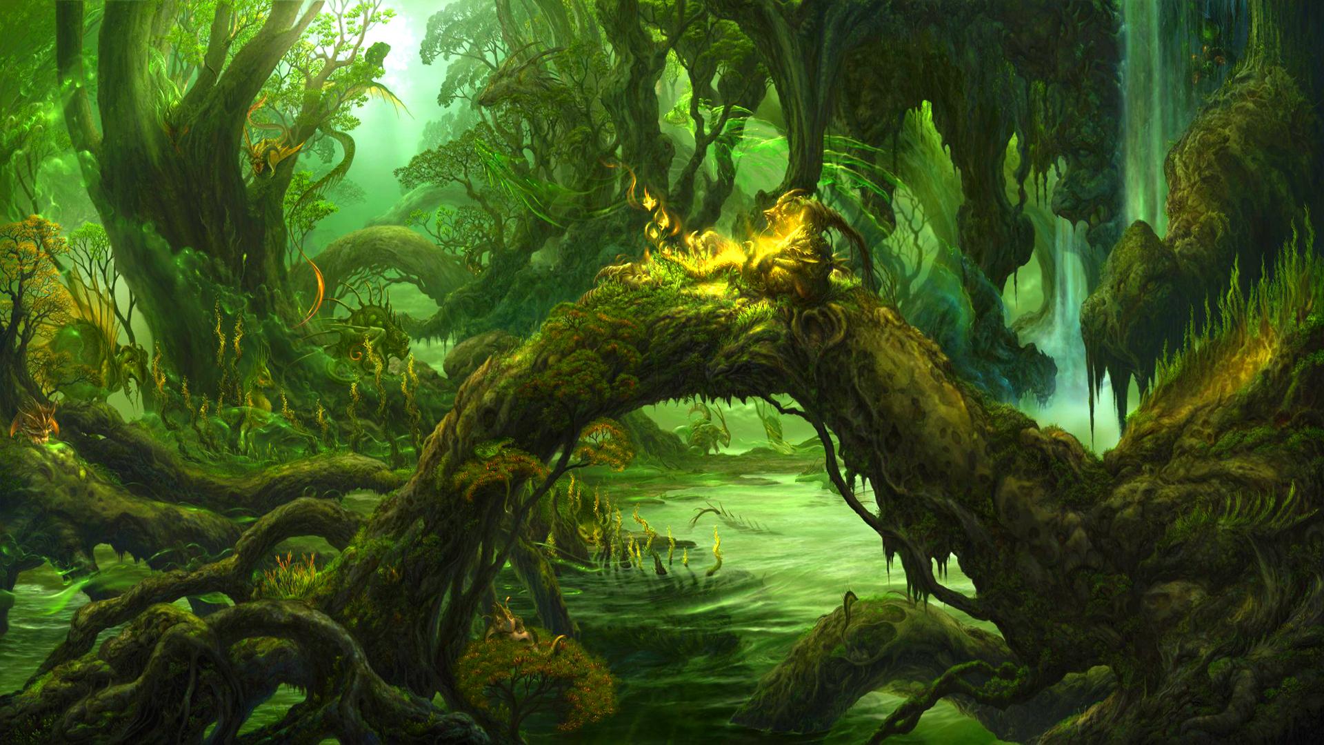 swamp life art id 26900 art abyss