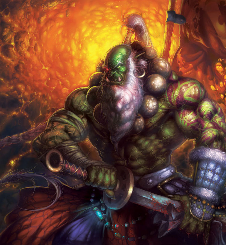 Orc Blade Master Art Id 33952 Art Abyss