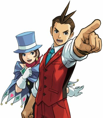 Preview Video Game - Ace Attorney Art