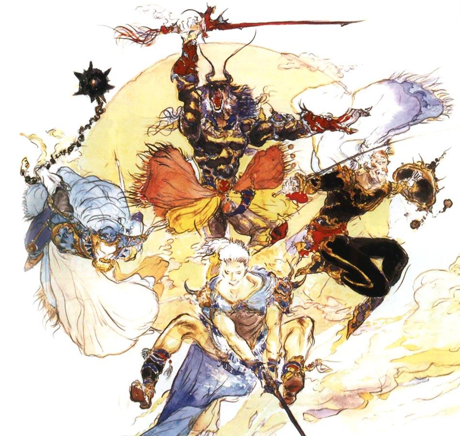 Warriors Of The Dawn Korean Movie Download: Final Fantasy V Art