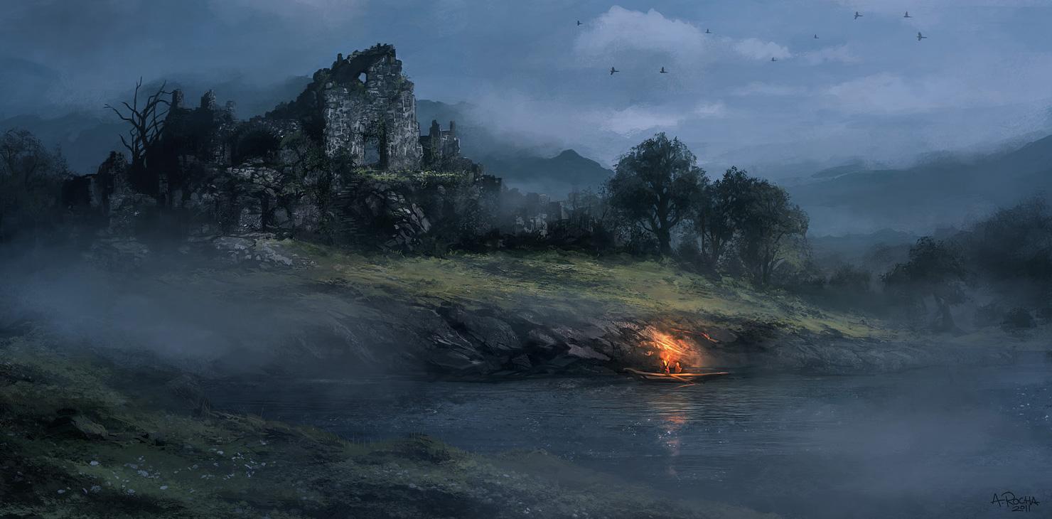 fog-in-the-dawn Art - ID: 36316 - Art Abyss