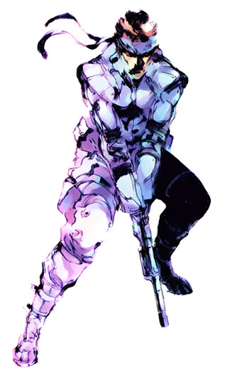 Solid Snake 2 Metal Gear Solid Art Id 36722 Art Abyss