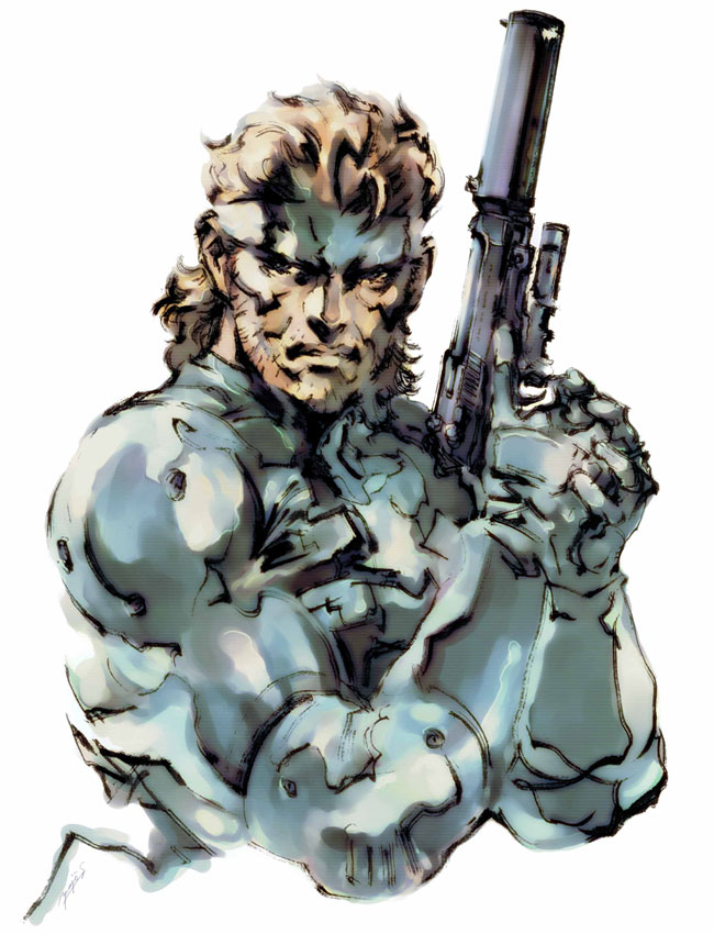 Solid Snake 2 Metal Gear Solid 2 Art Id 37085 Art Abyss