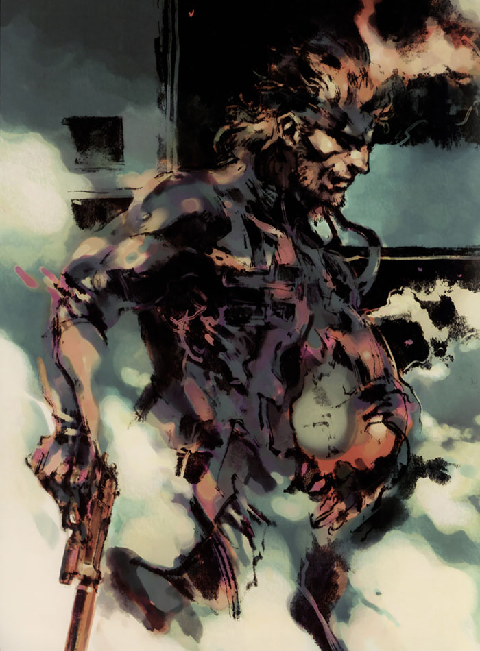 Solid Snake 4 Metal Gear Solid 2 Art Id 37150 Art Abyss