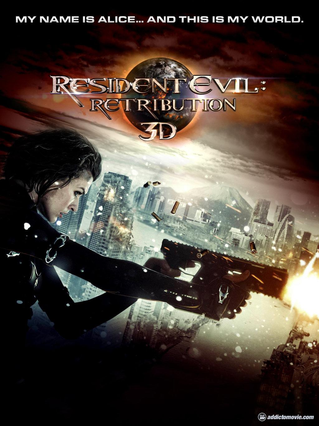 Resident Evil Retribution Art Id 37477 Art Abyss
