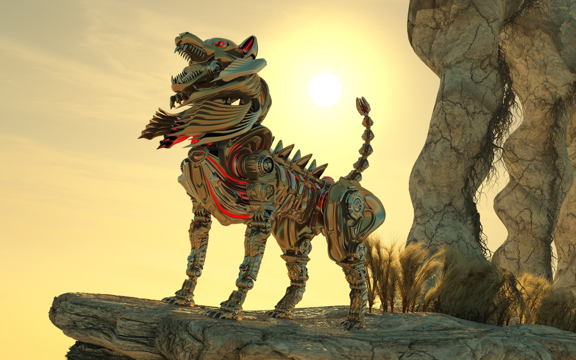 Робот-тигр  № 3606211  скачать