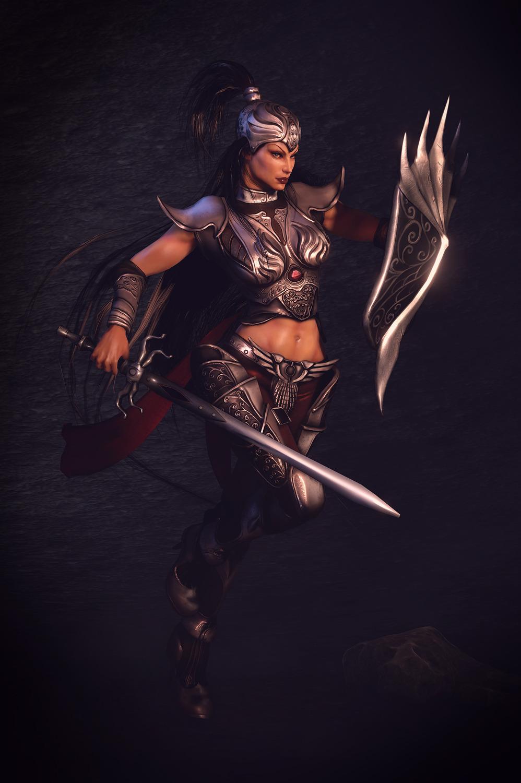Women Warrior Art - ID: 42590 - Art Abyss