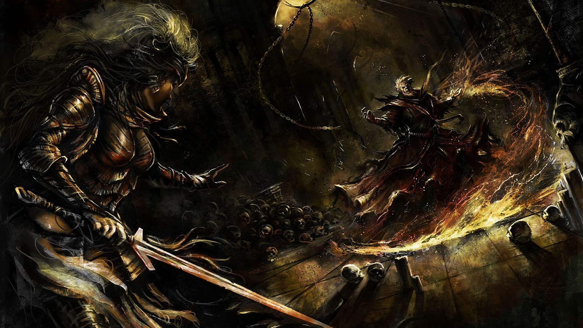 Amazoncom  Alien Warrior Fantasy Battle Axe w Dagger