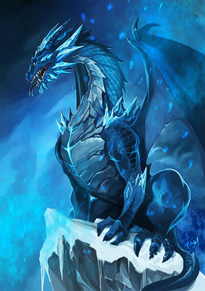 Ice Dragon Art Id 43615 Art Abyss