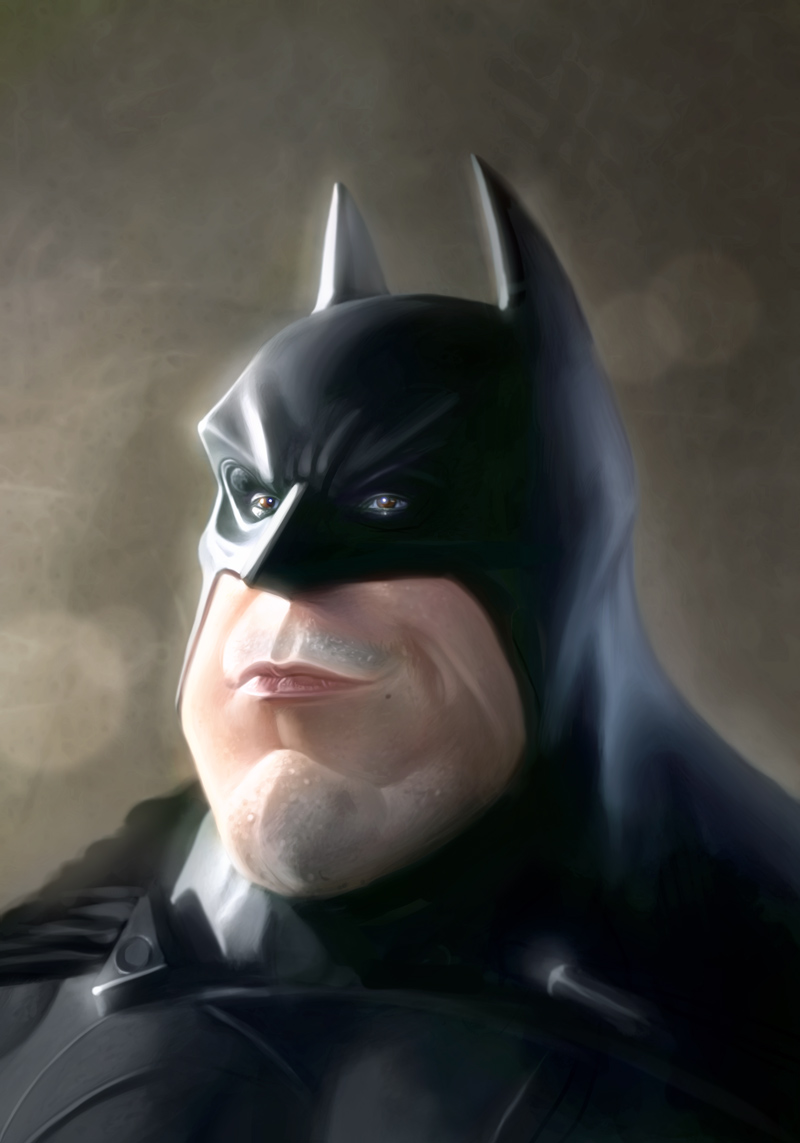 Картинки бэтмен за столом смешно