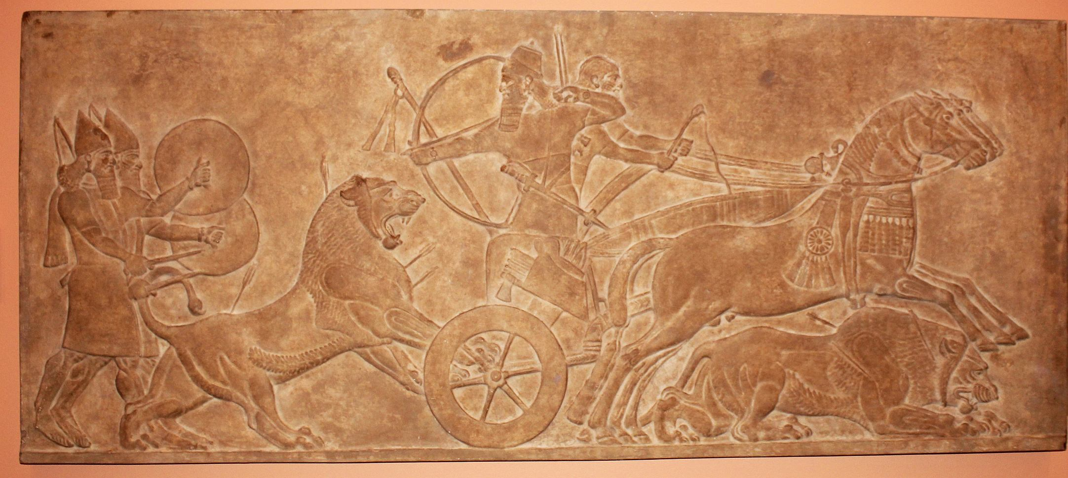 mesopotamia hunt for lions 0 b c art   id 45985   art abyss