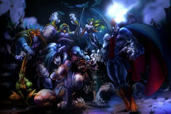 Preview Game - Darkstalkers Art