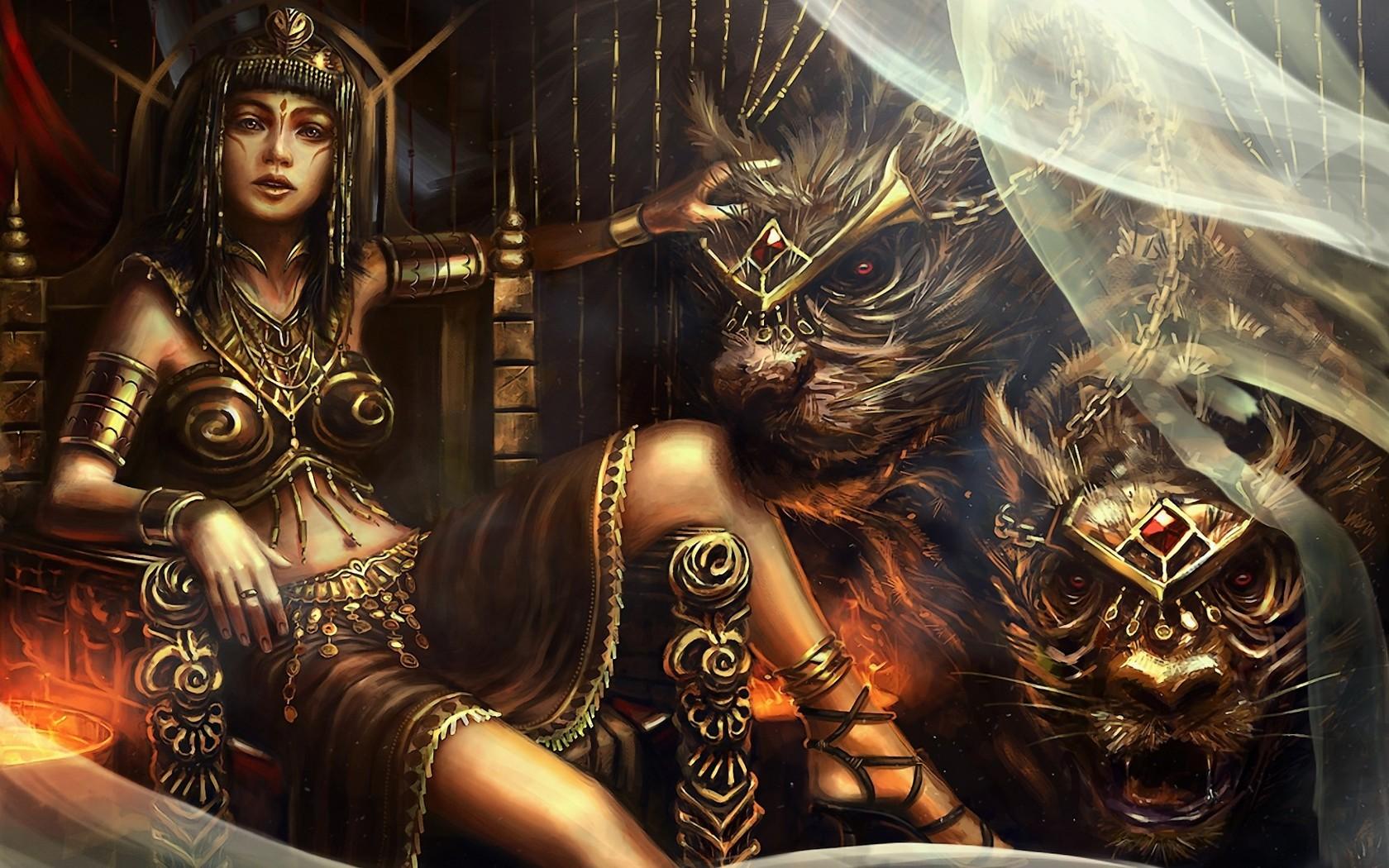 queen egyptian art wallpaper - photo #3