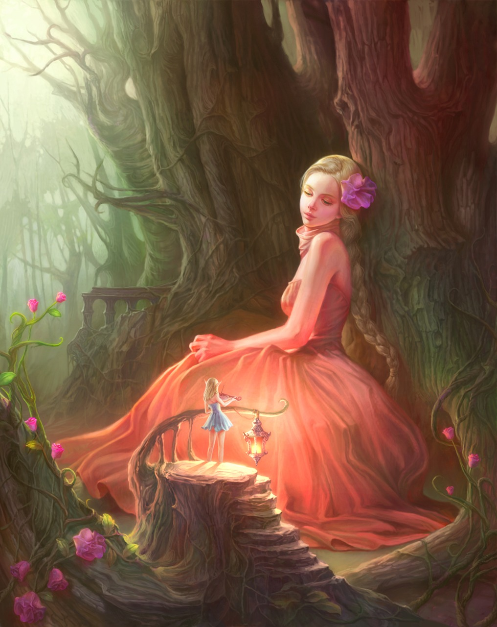 Fantasy fairy art erotic clips