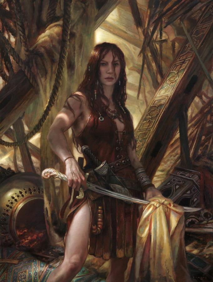Wallpaper : fantasy art, red eyes, demon, mythology, screenshot, woman warrior 1920x1346