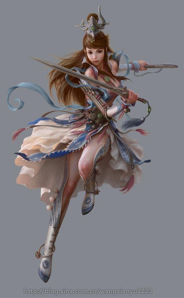 Women Warrior Art - ID: 10597 - Art Abyss