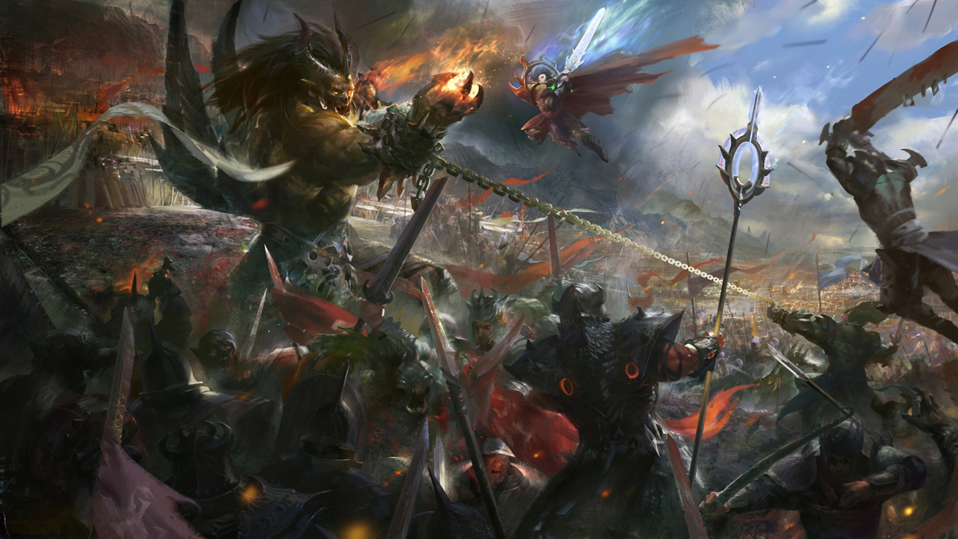 Epic battle fantasy wallpaper - photo#11