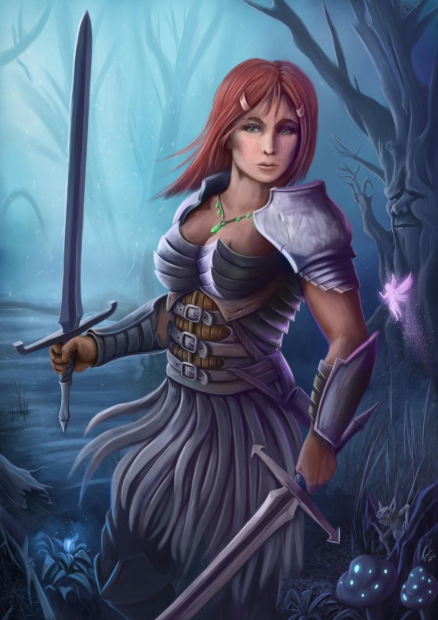 Women Warrior Art - ID: 56524 - Art Abyss