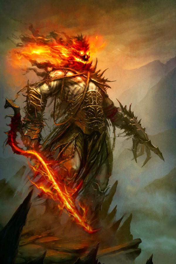 fantasy art warflame - photo #4