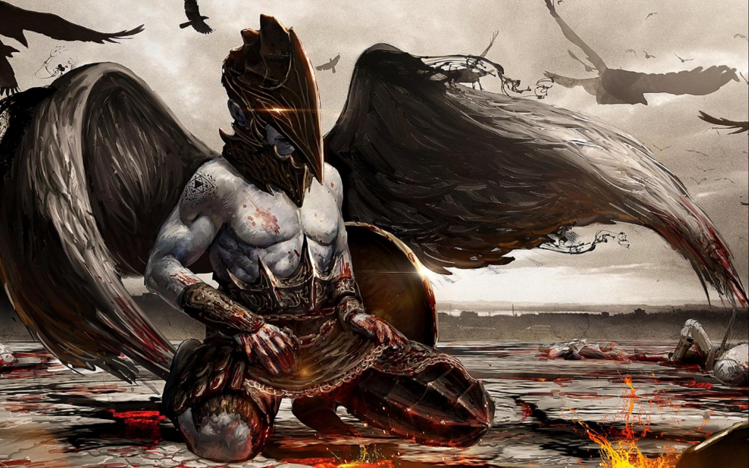 Битва Демонов  № 3608361 бесплатно
