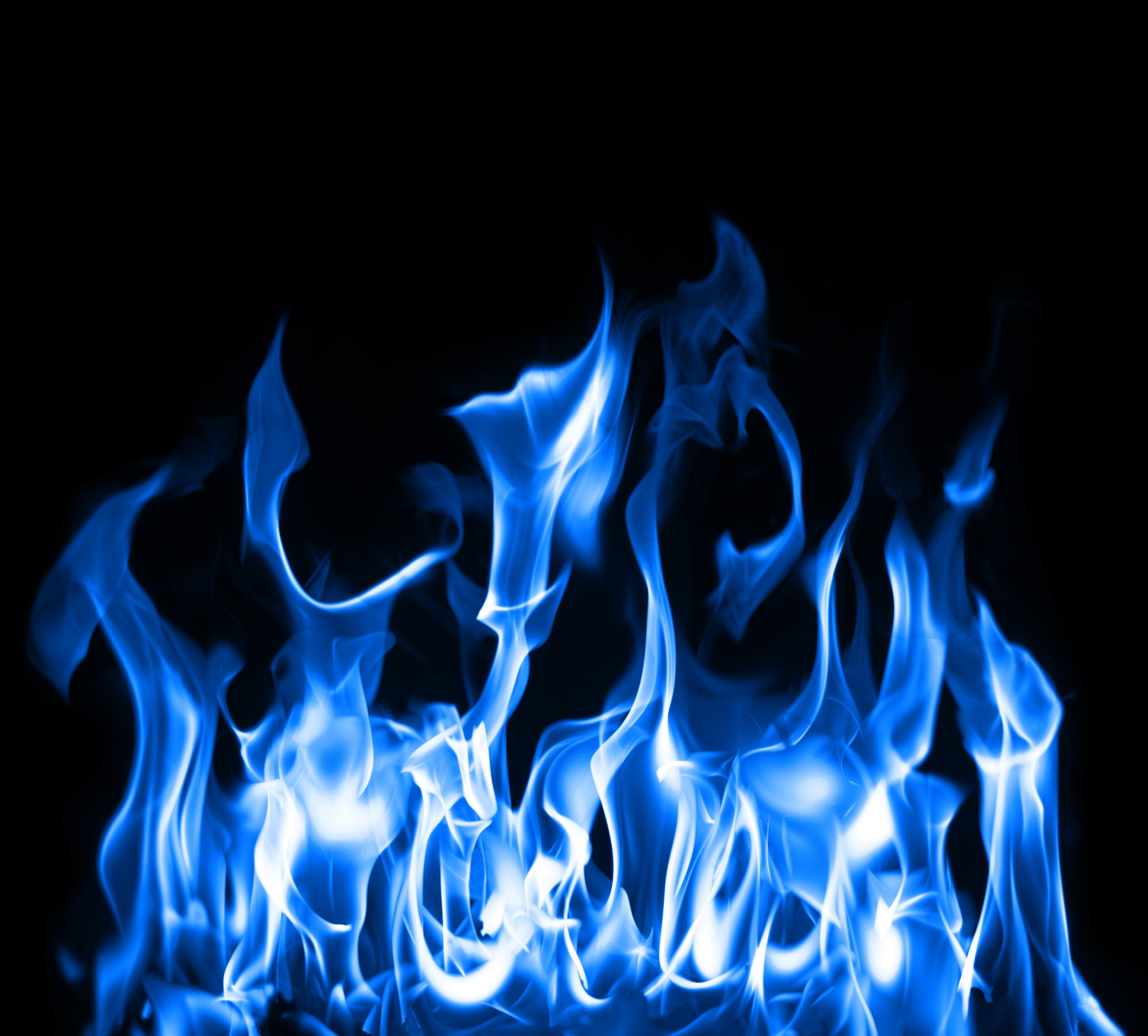 Blue Flame Art Id 54801