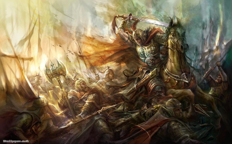 Fantasy Battle Art