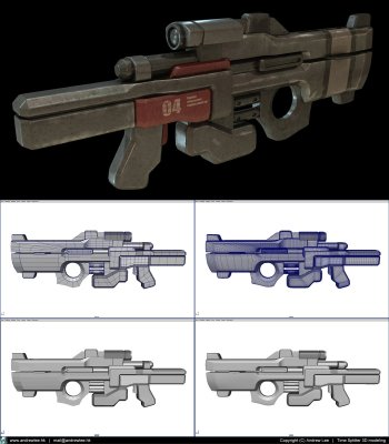 Preview Technology - Futuristic Weapon Art