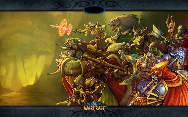 Second World Of Warcraft Dell Wallpaper Horde Art Id 55801