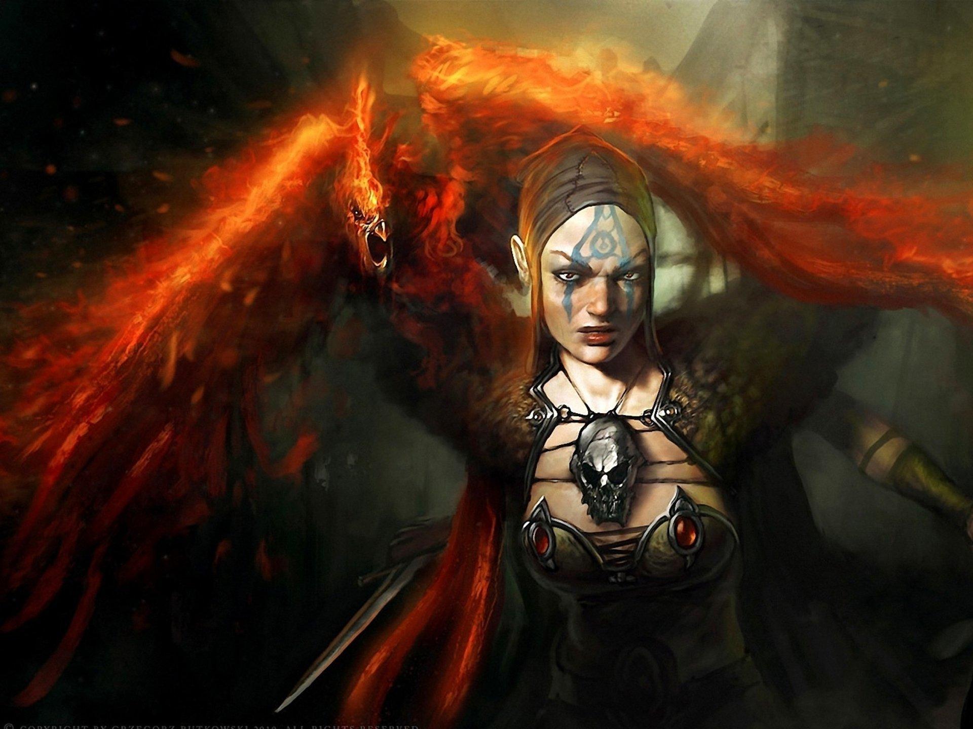 Women Warrior Art - ID: 59462 - Art Abyss