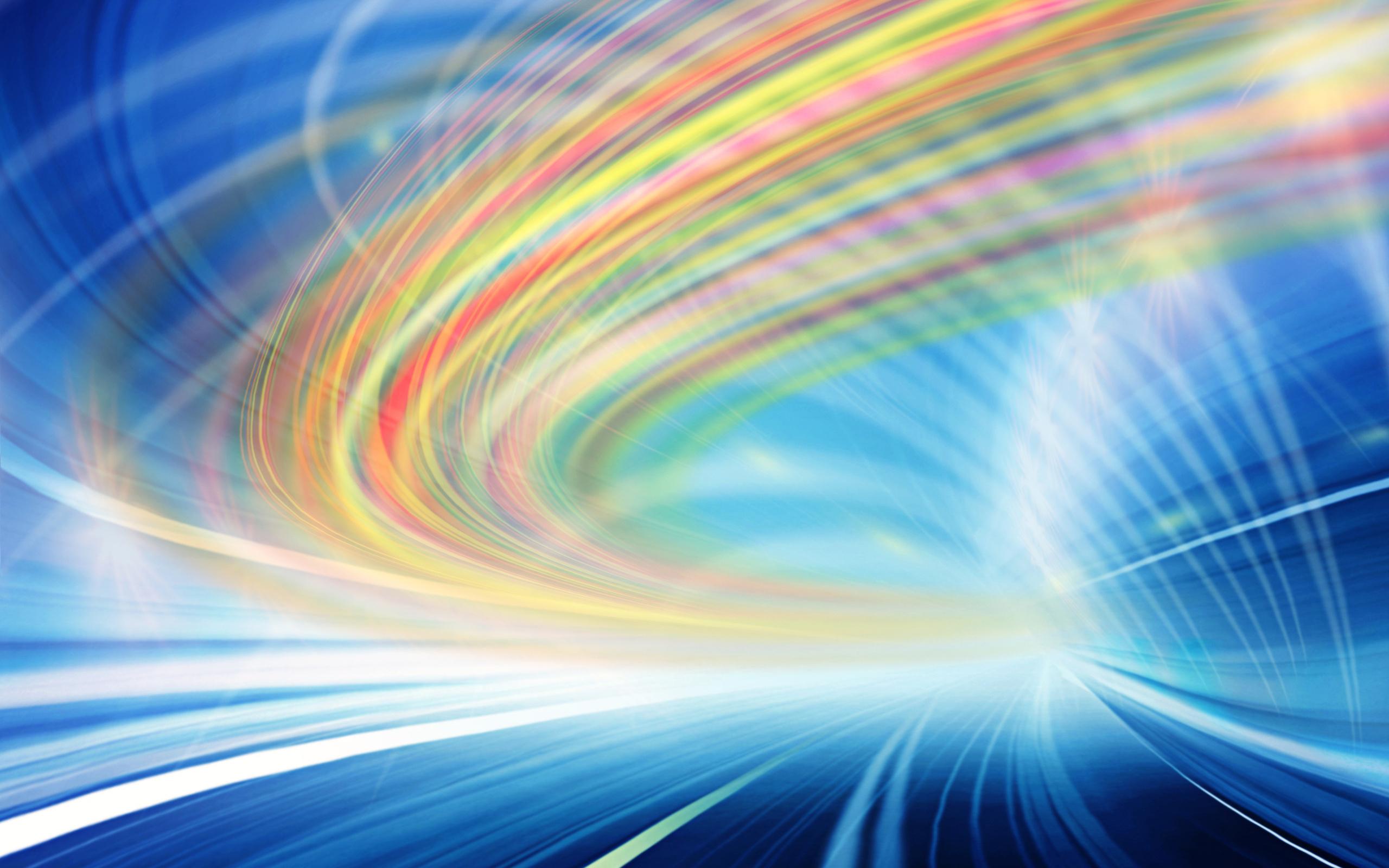 Яркий янтарный свет абстракции скачать